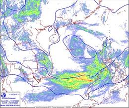 Thời tiết ngày 18/7: Nhiều nơi trên cả nước có mưa rào và dông, vùng áp thấp gây mưa trên biển Đông