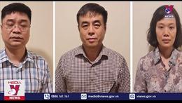 Khởi tố 3 cán bộ Cục Quản lý thị trường Hà Nội