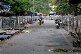 Chợ đầu mối phía Nam Hà Nội mở cửa trở lại với điều kiện phòng dịch nghiêm ngặt