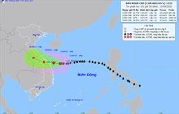 Thời tiết ngày 11/9: Mưa lớn ở khu vực Tây Nguyên và Nam Bộ, bão số 5 tiến gần bờ