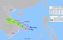 Thời tiết ngày 23/9: Áp thấp nhiệt đới có khả năng mạnh lên thành bão