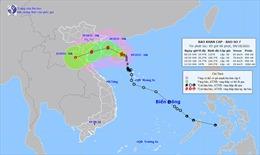 Thời tiết ngày 9/10: Bão số 7 gây mưa to từ Thanh Hóa đến Quảng Bình, biển động dữ dội