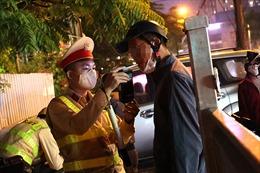 Hà Nội: Nhiều 'ma men' bị xử phạt vi phạm nồng độ cồn