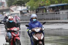 Không khí lạnh tràn về, Bắc Bộ và Trung Trung Bộ có mưa