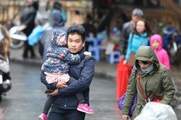 Thời tiết ngày 1/12: Không khí lạnh tràn về, miền Bắc trời mưa, rét