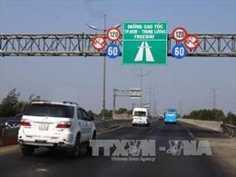 Cao tốc TP Hồ Chí Minh - Trung Lương sẽ tạm dừng thu phí từ 0 giờ 1/1/2019