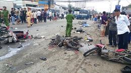 Xe container gây tai nạn thảm khốc: Ai phải bồi thường cho nạn nhân?
