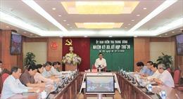 Đề nghị khai trừ khỏi Đảng 2 nguyên Bộ trưởng Nguyễn Bắc Son và Trương Minh Tuấn