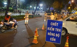 Xử lý nghiêm người điều khiển phương tiện giao thông vi phạm nồng độ cồn