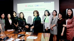 VPBank ký thỏa thuận huy động khoản đồng tài trợ xanh 212,5 triệu USD