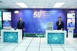 Cuộc gọi 5G đầu tiên trên thiết bị 5G 'Make in Vietnam'