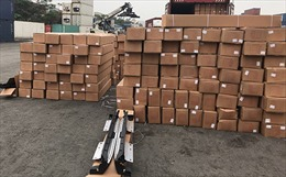 Phát hiện nhiều phụ kiện ô tô không khai hải quan trong lô hàng nhập từ Trung Quốc