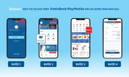 """VietinBank ra mắt kênh mua sắm """"VinMart: Siêu thị tại nhà"""" trên ứng dụng di động"""