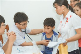 'Trái tim cho em' khám sàng lọc miễn phí tại Hà Giang