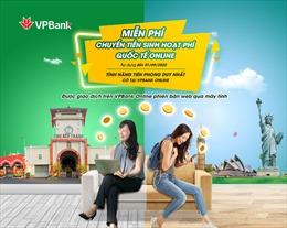 Miễn phí chuyển tiền sinh hoạt quốc tế cho du học sinh trên VPBank Online
