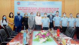 Hải quan và UNODC hợp tác kiểm soát container