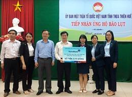 VietinBank dành hơn 15 tỷ đồng hỗ trợ đồng bào miền Trung bị lũ lụt