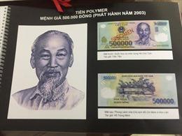 Biểu tượng quốc gia trên tờ tiền 'mừng tuổi'