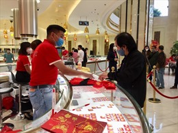 Chênh lệch giữa giá mua và bán vàng SJC đã rút ngắn