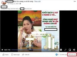 Nghệ sỹ quảng cáo thực phẩm chức năng mà không sử dụng có phải hành vi lừa dối