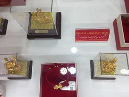 Giá vàng tăng đột biến, giao dịch trên 57,6 triệu đồng//lượng