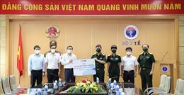 MB trao tặng Bộ Y tế 1 triệu khẩu trang N95 trị giá 40 tỷ đồng