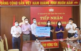 VietinBank ủng hộ 500 triệu đồng cho tỉnh Hưng Yên phòng, chống COVID-19