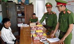 Xử lý nghiêm các vụ buôn lậu, sử dụng trái phép pháo nổ dịp Tết
