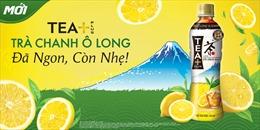 Ra mắt sản phẩm Trà Chanh Ô Long Tea+