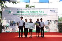 Chiến dịch Nutritite Power of 5 giúp giảm tỷ lệ trẻ duy dinh dưỡng