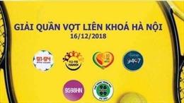 Giải Quần vợt kết nối gần 60.000 cựu học sinh phổ thông trung học Hà Nội