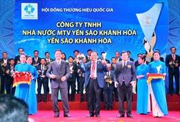 Yến Sào Khánh Hòa được tôn vinh Thương hiệu Quốc Gia năm 2018