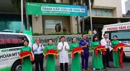 Bệnh viện Hoàn Mỹ Sài Gòn ra mắt trạm cấp cứu 115