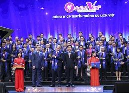 Du lịch Việt nhận giải thưởng Sao vàng Đất Việt