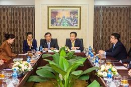 Thống đốc Ngân hàng TƯ Lào: SHB Lào góp phần quan trọng phát triển KT-XH hai nước Việt- Lào