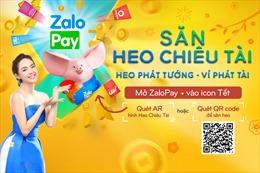 'Săn heo chiêu tài Tết 2019' trên ZaloPay cùng đại sứ Minh Hằng