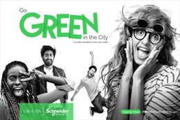 Schneider Electric khởi động cuộc thi 'Go Green in the City 2019'