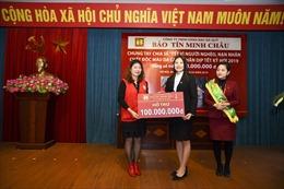 Bảo Tín Minh Châu trao gần 150 triệu đồng từ thiện