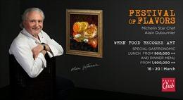 Bếp trưởng Alain Dutournier kỷ niệm 40 năm nghề nấu bếp của mình tại Press Club