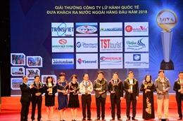 TST tourist tiếp tục giữ danh hiệu 'Top 10 DN lữ hành outbound hàng đầu Việt Nam'