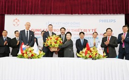 Philips và bệnh viện đa khoa Hồng Đức ký thỏa thuận hợp tác lâu dài