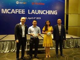 Việt Nét trở thành nhà phân phối chính thức của McAfee