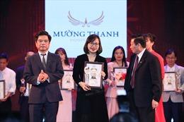 Tập đoàn Mường Thanh nhận giải Top 10 thương hiệu uy tín – chất lượng 2018