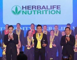 Herbalife tiếp tục nhận giải thưởng Rồng Vàng 2019