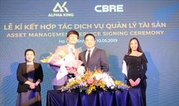 Lễ ký kết hợp tác – Dịch vụ Quản lý tài sản, độc quyền cho dự án Alpha City – Giai đoạn 2 cùng CBRE