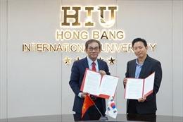 Học sinh Hàn Quốc đến ĐH Quốc tế Hồng Bàng học chuyên ngành