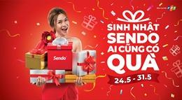 Sendo tổ chức chương trình mua sắm lớn nhất mừng sinh nhật 7 tuổi