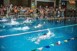 """Nghệ An: Các """"kình ngư"""" nhí háo hức chờ đón Giải bơi trong nhà lớn nhất trong năm"""