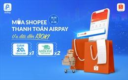 Thêm phương thức thanh toán ví điện tử AirPay trên Shopee