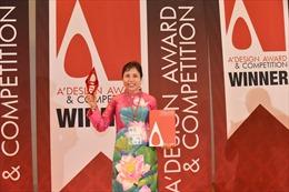 Họa sĩ Nguyễn Thu Thủy đoạt giải Vàng cuộc thi Thiết kế quốc tế